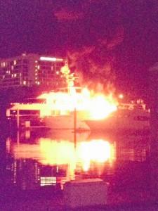 Boat Fire 1