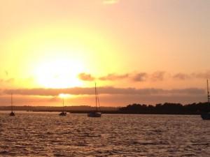 Sunset Fernandina
