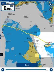 Bimini to Nassau GPS Track